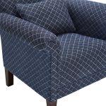 Ashdown Accent Chair in Hampton Navy - Thumbnail 7