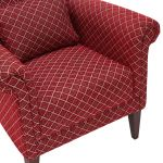 Ashdown Accent Chair in Hampton Ruby - Thumbnail 7