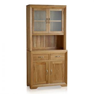 Bevel Natural Solid Oak Small Dresser