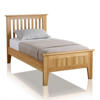 Bevel Solid Oak 3ft Single Bed