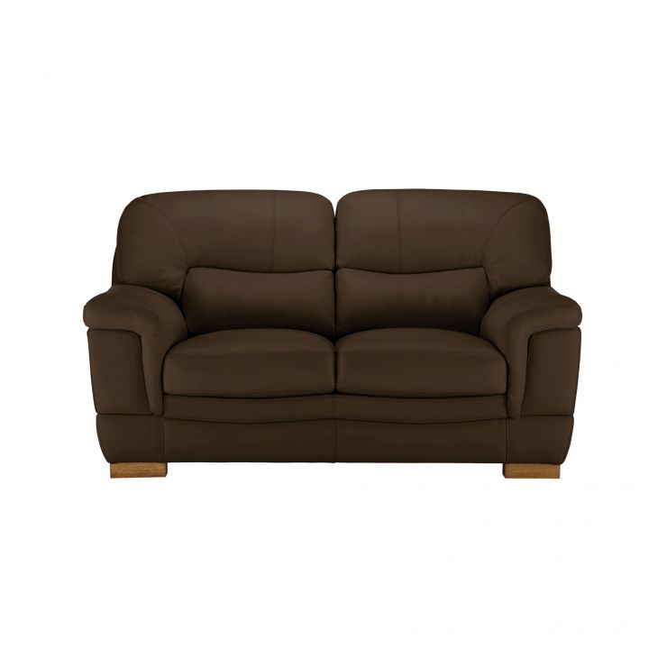 Brandon 2 Seater Sofa - Light Brown Leather
