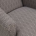 Brighton Patterned Charcoal Accent Chair - Thumbnail 5