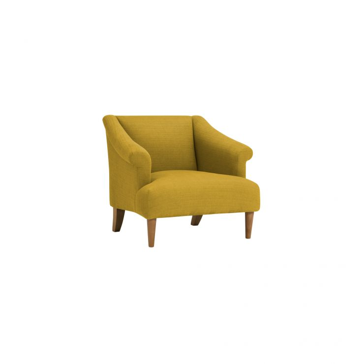 Brighton Plain Saffron Accent Chair