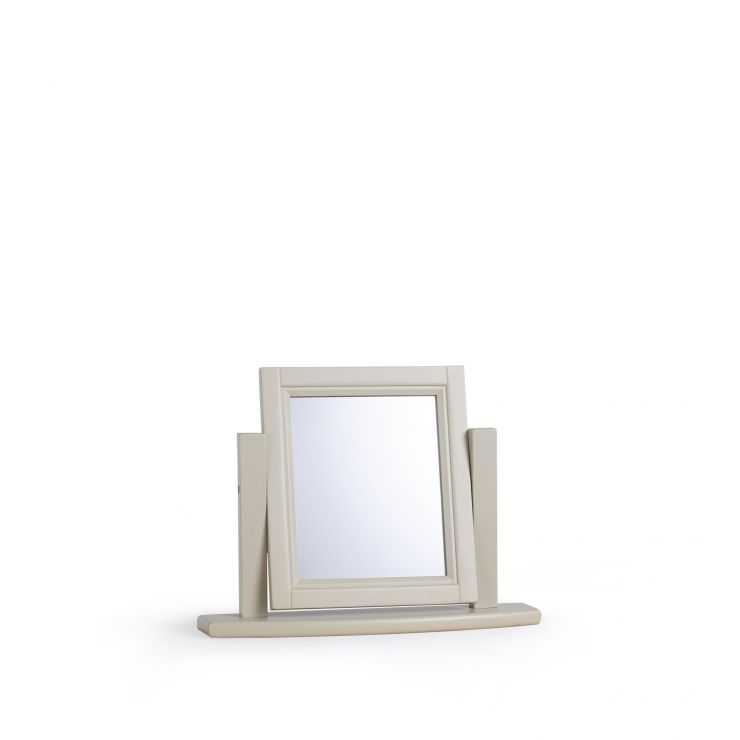Brindle Natural Oak and Painted Dressing Table Mirror