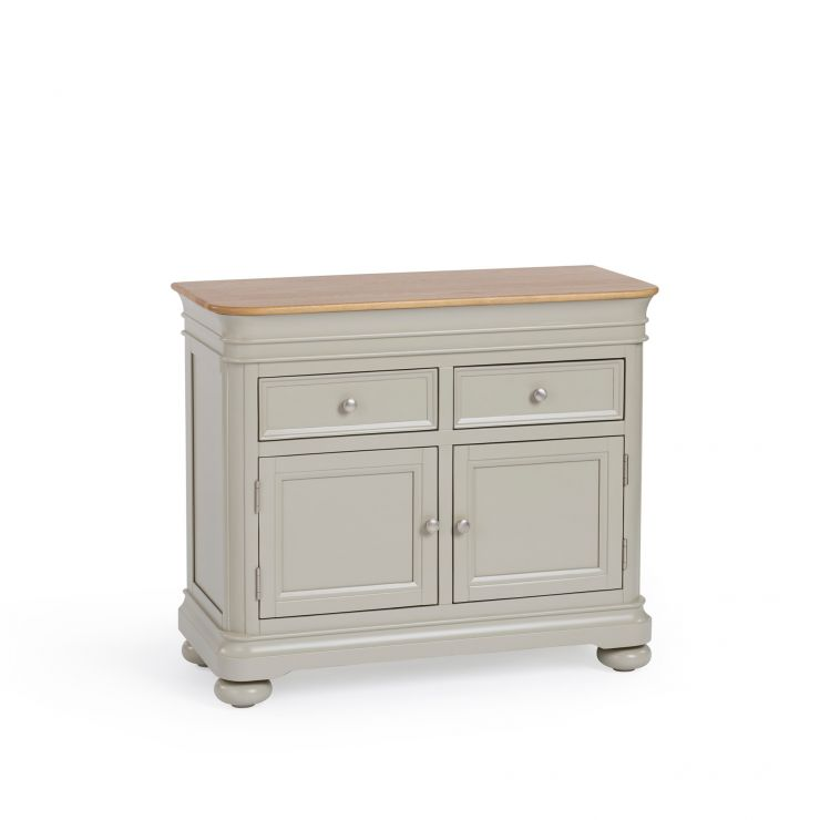 Brindle Natural Oak and Painted Small Sideboard