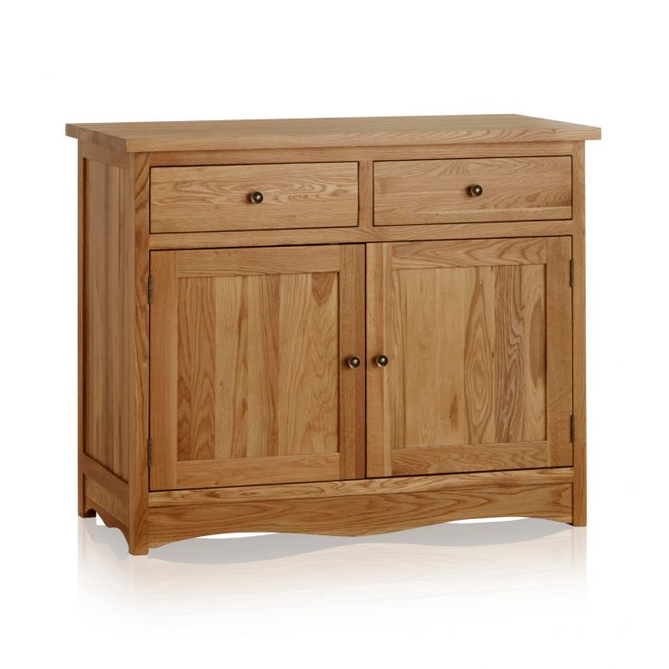 Cairo Natural Solid Oak Small Sideboard - Image 6
