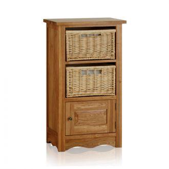 Cairo Natural Solid Oak Storage Unit