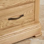 Canterbury Natural Solid Oak Dressing Table - Thumbnail 5