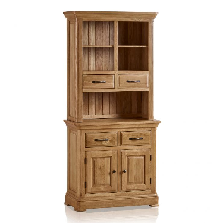Canterbury Natural Solid Oak Small Dresser - Image 7