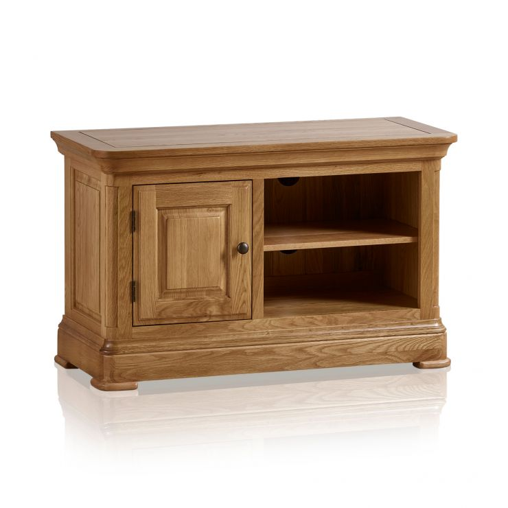 Canterbury Natural Solid Oak Small TV Cabinet - Image 7