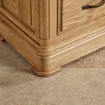 Canterbury Natural Solid Oak Triple Wardrobe - Thumbnail 5