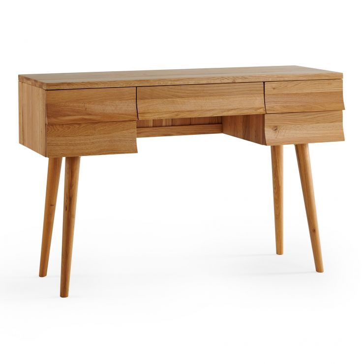 Cascade Natural Solid Oak Dressing Table