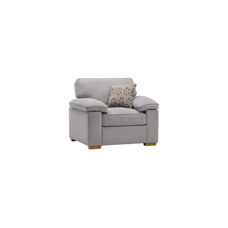 Chelsea Armchair in Cosmo Pewter