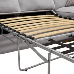 Chelsea Left Hand Corner Sofa Bed in Cosmo Pewter - Thumbnail 3