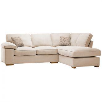 Chelsea Left Hand Corner Sofa in Cosmo Linen