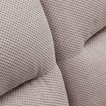 Chloe 3 Seater Sofa High Back in Breeze Fabric - Silver - Thumbnail 8
