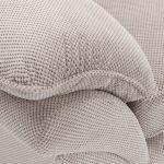 Chloe Armchair in Breeze Fabric - Silver - Thumbnail 7