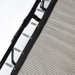 Chloe 2 Seater Standard Sofa Bed in Logan Fabric - Black - Thumbnail 3