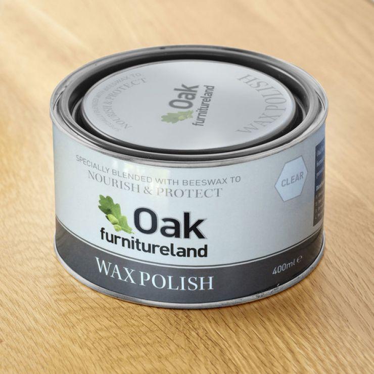 Clear Furniture Wax Polish By Oak Furniture Land