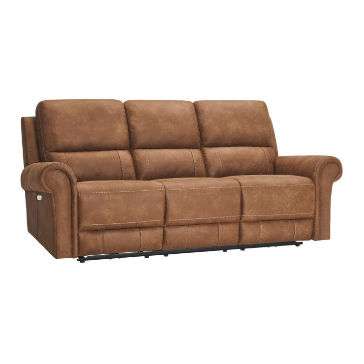 Colorado 3 Seater Electric Recliner in Fabric