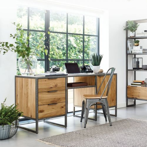 Astounding Home Office Furniture Solid Oak Office Furniture Oak Home Interior And Landscaping Transignezvosmurscom