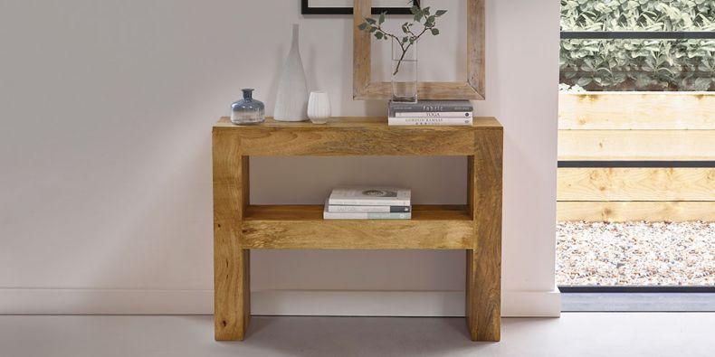 Swell Oak Console Tables Oak Hallway Tables Oak Furnitureland Machost Co Dining Chair Design Ideas Machostcouk