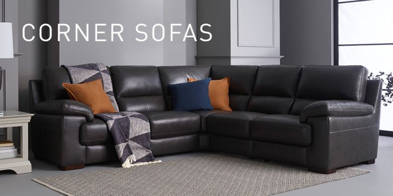 Corner Sofas | L Shaped Sofas | Fabric Corner Sofas | Oak Furnitureland