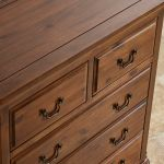 Cranbrook Solid Hardwood 3+2 Chest of Drawers - Thumbnail 5