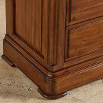 Cranbrook Solid Hardwood Glazed Display Cabinet - Thumbnail 7