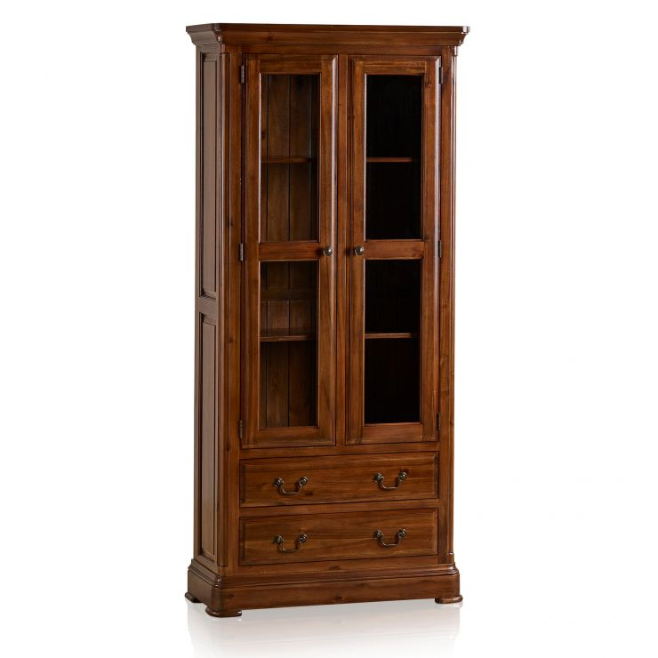 Cranbrook Solid Hardwood Glazed Display Cabinet - Image 8