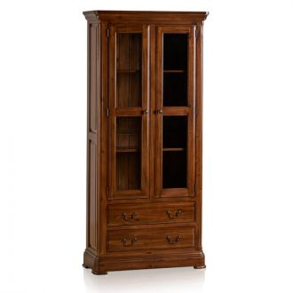 Cranbrook Solid Hardwood Glazed Display Cabinet