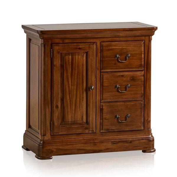 Cranbrook Solid Hardwood Storage Cabinet
