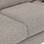 Cube 2 x 2 Stone Corner Sofa in Fabric - Thumbnail 5
