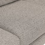 Cube Right Hand Stone Corner Sofa in Fabric - Thumbnail 5