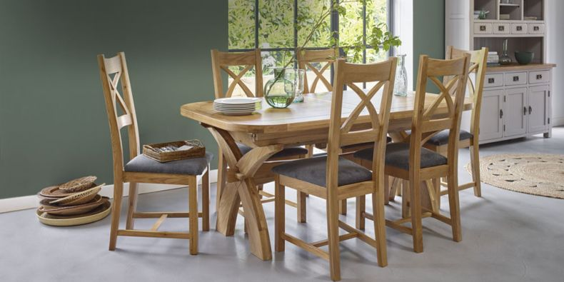Astonishing Oak Dining Tables Kitchen Dinner Tables Oak Furnitureland Caraccident5 Cool Chair Designs And Ideas Caraccident5Info