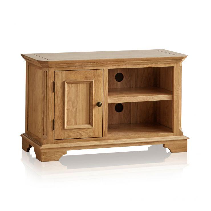 Edinburgh Natural Solid Oak Small TV Cabinet - Image 6