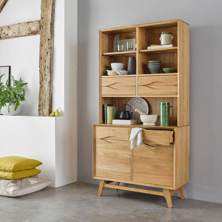 Ellipse Natural Solid Oak Small Dresser