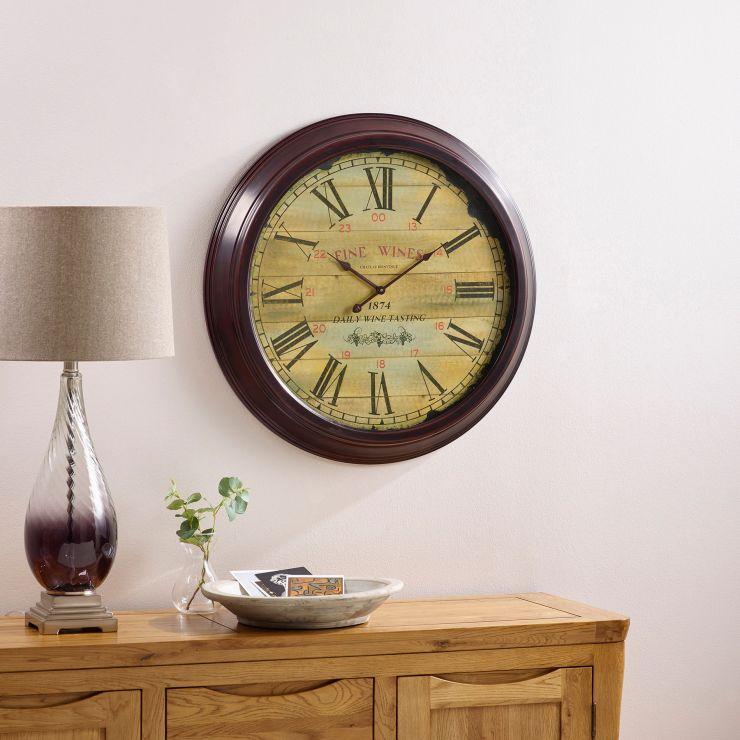 Fine Wine Wall Clock - Image 2