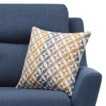 Fraser Armchair in Icon Fabric - Blue - Thumbnail 5
