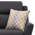 Fraser Armchair in Icon Fabric - Charcoal - Thumbnail 5