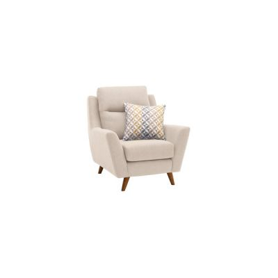 Fraser Armchair in Icon Fabric - Ivory