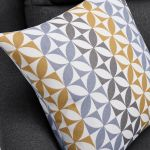 Fraser Left Hand Corner Sofa in Icon Fabric - Charcoal - Thumbnail 8
