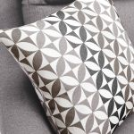 Fraser Left Hand Corner Sofa in Icon Fabric - Silver - Thumbnail 8