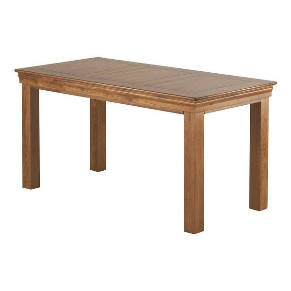 """French Farmhouse Rustic Solid Oak 5ft x 2ft 6"""" Dining Table"""