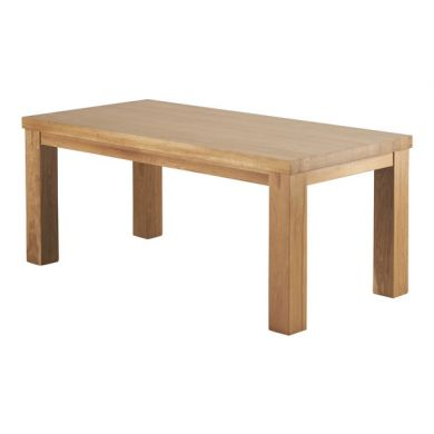 Fresco 6ft x 3ft Natural Solid Oak Dining Table