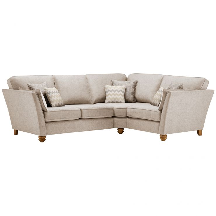 Gainsborough Left Hand Corner Sofa in Beige with Beige Scatters - Image 1