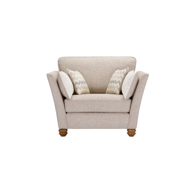 Gainsborough Loveseat in Beige with Beige Scatters - Image 1