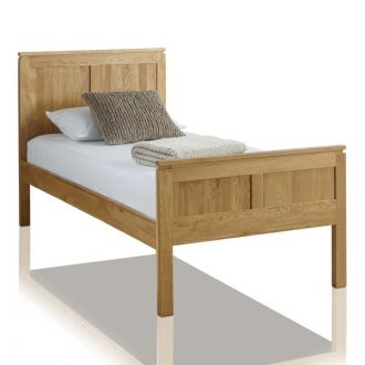 Galway Natural Solid Oak 3ft Single Bed