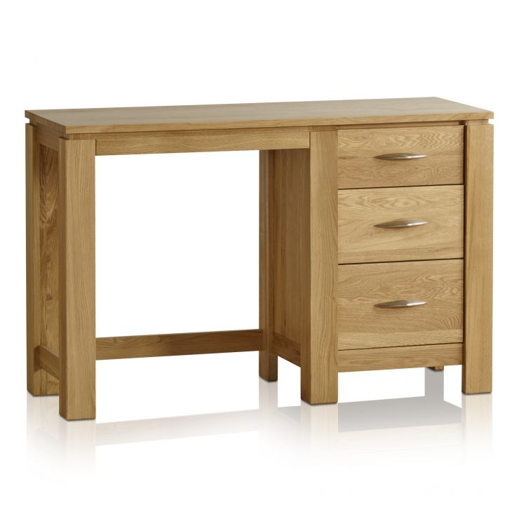 Galway Natural Solid Oak Dressing Table - Image 1