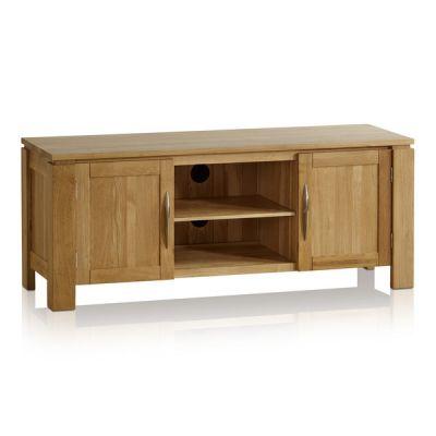 Galway Natural Solid Oak Large TV Cabinet
